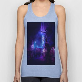 Tokyo Nights / Midnight City / Liam Wong Unisex Tank Top
