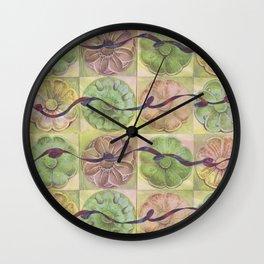 Ribbon Pattern Wall Clock