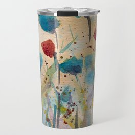 Summer flowers Travel Mug