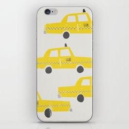 New York Taxicab iPhone Skin