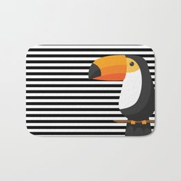 TOUCAN tropical toucans Bath Mat