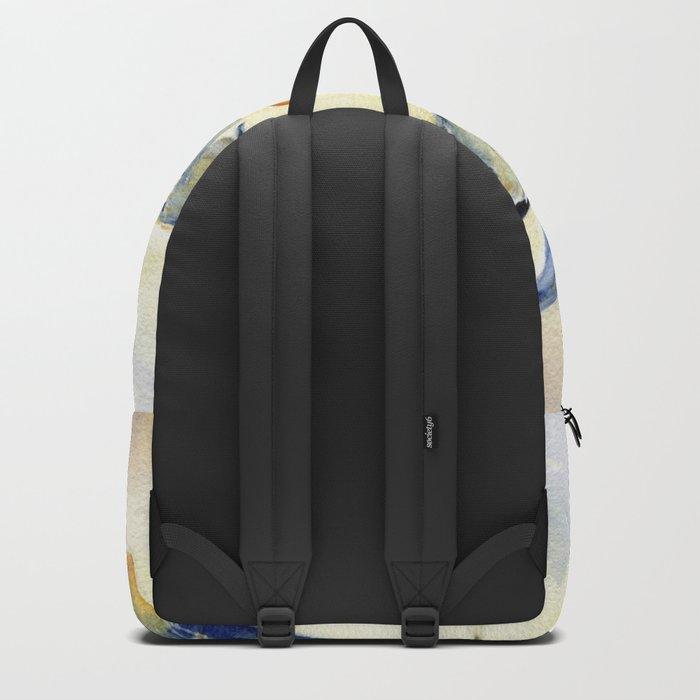 Flying Together - Great Blue Heron Backpack