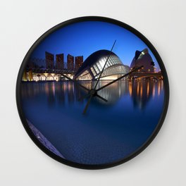Arts and Science Museum Valencia Wall Clock