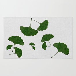 Ginkgo Leaf I Rug
