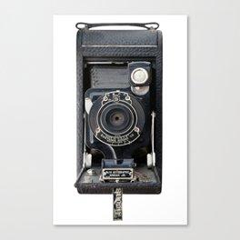 Vintage Autographic Kodak Jr. Camera Canvas Print