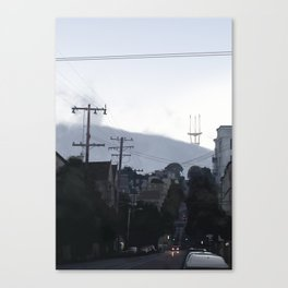 Sutro Tower Canvas Print