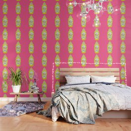 ROYAL WORCESTER PRINT PINK Wallpaper