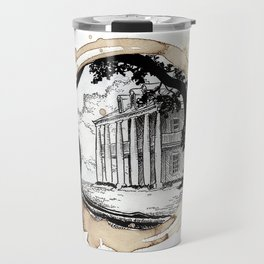 Coffee Stained Plantation-Louisiana Series Travel Mug