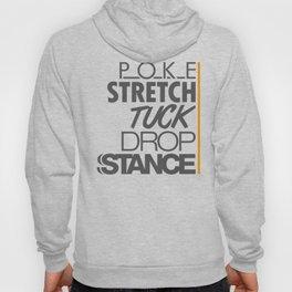 POKE STRETCH TUCK DROP STANCE v4 HQvector Hoody