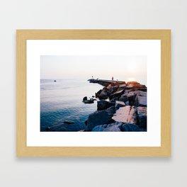Water and Sun Framed Art Print