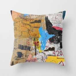 King King Throw Pillow