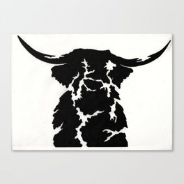 Image of Scotland: Highland Cow Canvas Print