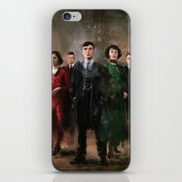 Shelby family iPhone Skin