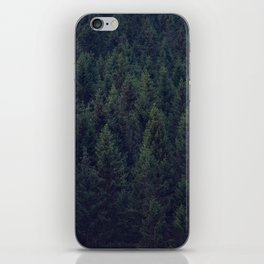 Deep In The Woods iPhone Skin