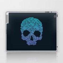 Labyrinthine Skull - Neon Laptop & iPad Skin