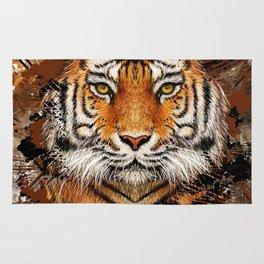 Tiger Profile Rug