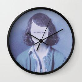Self-Destruction Wall Clock