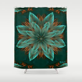 The flower of hope  Shower Curtain