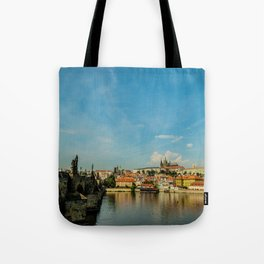 Charles Bridge in Prague Tote Bag