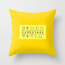 SYMBOLWAY Throw Pillow