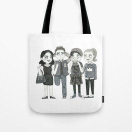 Riverdale - Archie, Veronica, Betty, Jughead Tote Bag
