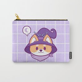 Witch Doggo Carry-All Pouch