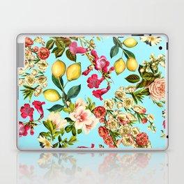 Lemon and Leaf Pattern IV Laptop & iPad Skin