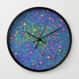 Starry Starry Night Neurons Wall Clock