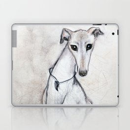 The Greyhound Wearing His Thorn Laptop & iPad Skin
