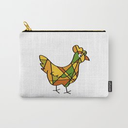 Chicken - Hen - Line Art - 57 Montgomery Ave Carry-All Pouch