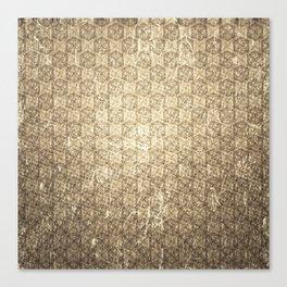 d20 Forbidden Scroll Critical Hit Pattern Canvas Print