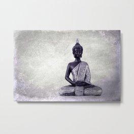 Buddha  - JUSTART © Metal Print