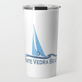 Ponte Vedra Beach - Florida. Travel Mug