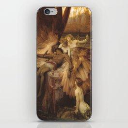 The Lament for Icarus by Herbert James Draper, 1898 iPhone Skin
