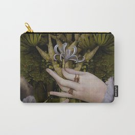 """""""The hands of Bosch and the Spring"""" Carry-All Pouch"""