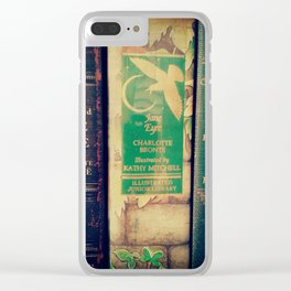 Jane Eyre Clear iPhone Case
