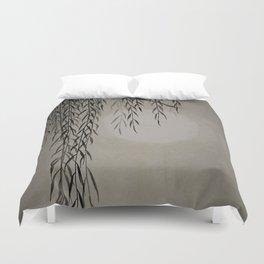 Willow in the moonlight Duvet Cover
