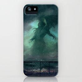 Cthulhu Rises iPhone Case