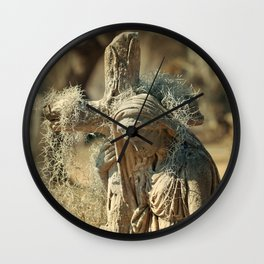 Magnolia Mary Wall Clock