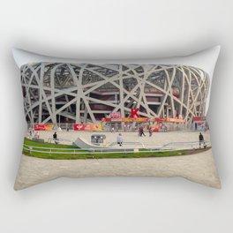 Beijing National Olympic Stadium Rectangular Pillow