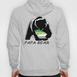 Papa Bear Aromantic Hoody