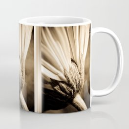 Sepia Gerbera Coffee Mug