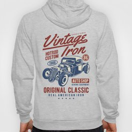 Vintage Iron Hot Rod Custom Hoody