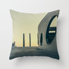 Champalimaud Foundation Throw Pillow
