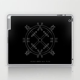 Shield of Terror Stave Laptop & iPad Skin