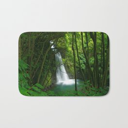 Waterfall in the Azores Bath Mat