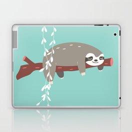 Sloth card - just 5 more minutes Laptop & iPad Skin