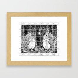 Vice & Versa Framed Art Print
