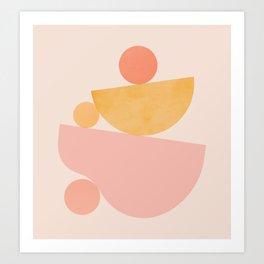 Abstraction_PLAYFUL_SHAPE Art Print