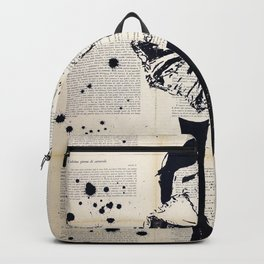 Nothing underneath the shade - Ink painting Backpack